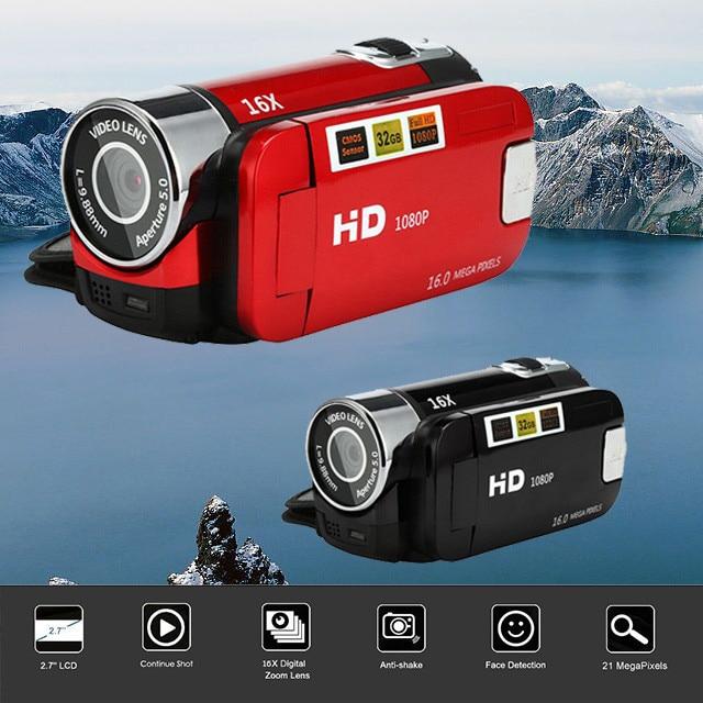 Video Camcorder HD 1080P Handheld Digital Camera 16X Digital Zoom mini camera wearable devices camera