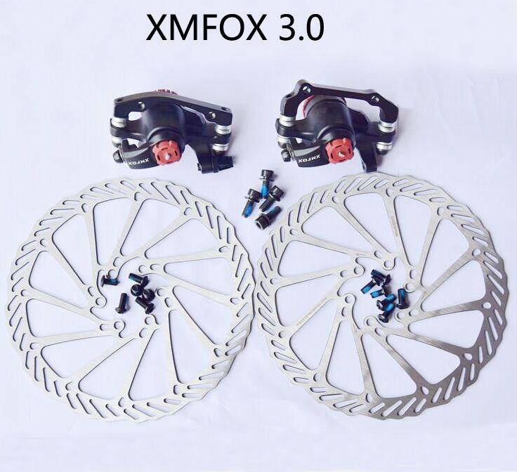 XMFOX 3,0, pastillas de freno de bicicleta de montaña MTB, pinzas de freno de bicicleta, freno delantero trasero G3/HS1, Rotor de disco diferente a Avid BB7/BB5, piezas de bicicleta