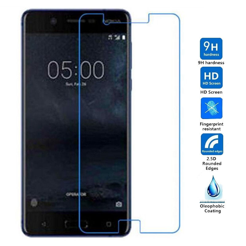9H 2.5D Protection Film Tempered Glass for Nokia 5 3 Screen Protector For Nokia 5 Tempered Glass For