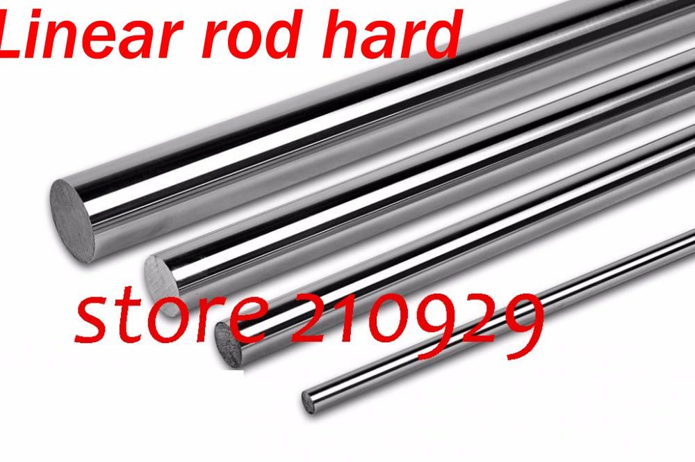 D10 10 pcs L350mm Linear rolamento da haste duro duro-aço #45
