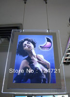 A3 Size Single Sided Hanging Crystal Led Light Box