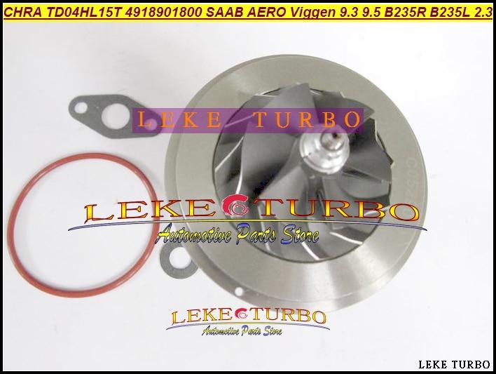 Cartucho Turbo CHRA Core TD04HL-15T 49189-01800 para 49189-01830 SAAB AERO Viggen 9-3 9-5 9,3 9,5 2.3L 99-2002 B235R B235L 230HP