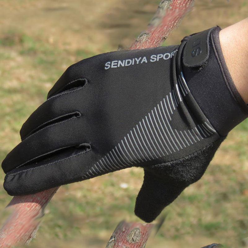 2019 1 Pair Bike Bicycle Gloves Full Finger Touchscreen Men Women  MTB Gloves Breathable Summer Mitt