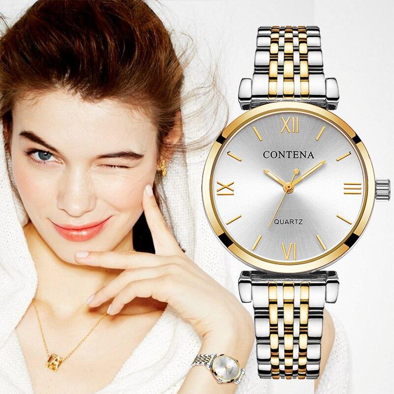 Women Watch Fashion Luxury Dress Watches Stainless Steel Relogio Feminino Watch Women Reloj Mujer Ladies Watch zegarek damsk