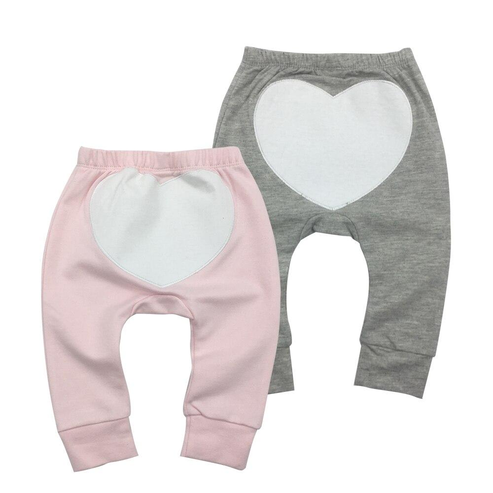 2Pieces/lot Baby Pants Cartoon Toddler Boy Girl Leggings Full Length Elastic Waist Kids Pant Trousers  Clothes