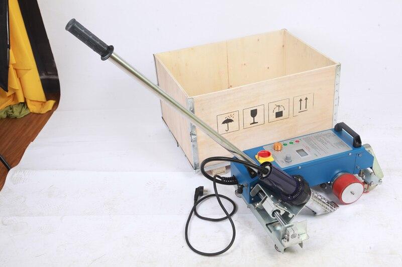 Soldadora de lona de aire caliente 3400 w/soldadora automática de plástico