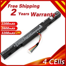 Golooloo AS16A5K AS16A7K AS16A8K Batterie Dordinateur Portable Pour Acer Aspire E5-575 E5-575G E5-575T E5-575TG E5-774 E5-774G E 15