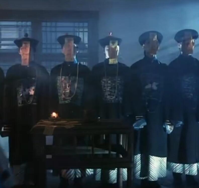 Vampiro chinês Jiang shi roupas Halloween Role-playing Cosplay Zumbi Santo Tricky Horror Traje Soldados Da Dinastia Qing