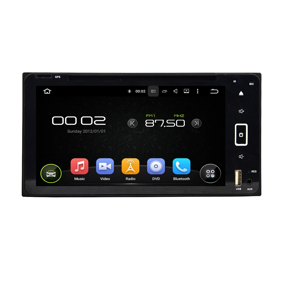 Octa core reproductor DVD Android para el coche para toyota Prado/landcruiser/camry/corola/hilux auto gps estéreo BT/radio/dvr/obd2/tpms/cámara