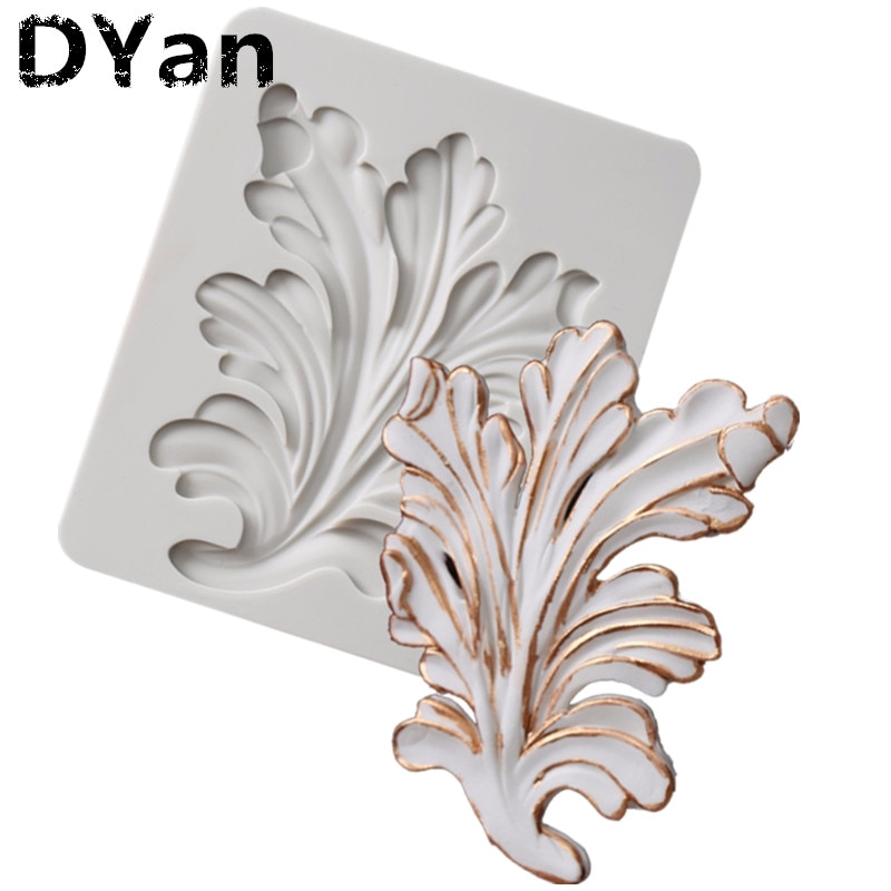 Molde de silicona de alivio de azúcar molde de Fondant herramientas de decoración de pasteles molde de Chocolate para hornear A1528