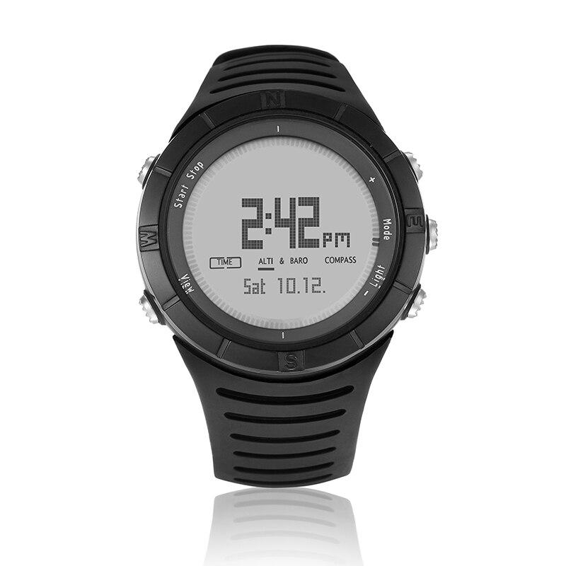 Reloj deportivo inteligente Digital Spovan Para hombre, brazalete Para correr, pulsera negra, Relojes militares de calidad Para Mujer, regalo Saat