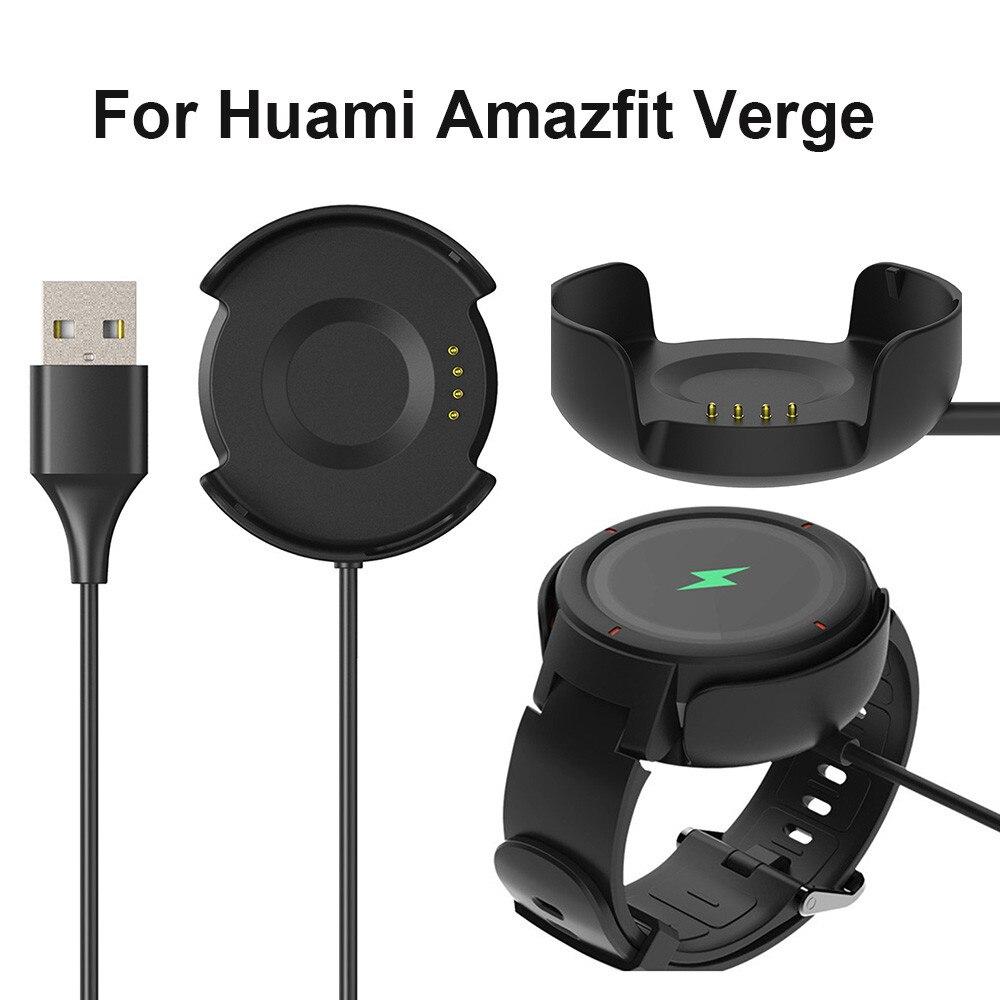 Cargador para Huami Amazfit Verge Smart Watch, reemplazo de cargadores USB, base de carga, Cable wearabledevices, accesorios para reloj inteligente
