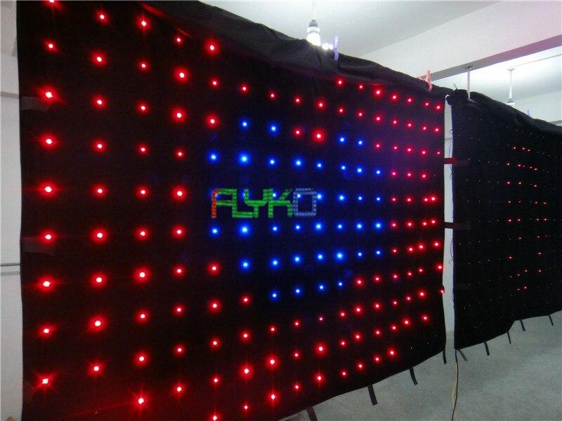 ستارة led ناعمة p18 ، 2 × 3 م ، شحن مجاني