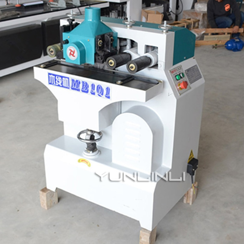 Wood Line Machine 220V 6m/min Moulding Machine Pressure Line Side Machine Frame Line Machine Wooden Planer MB-101