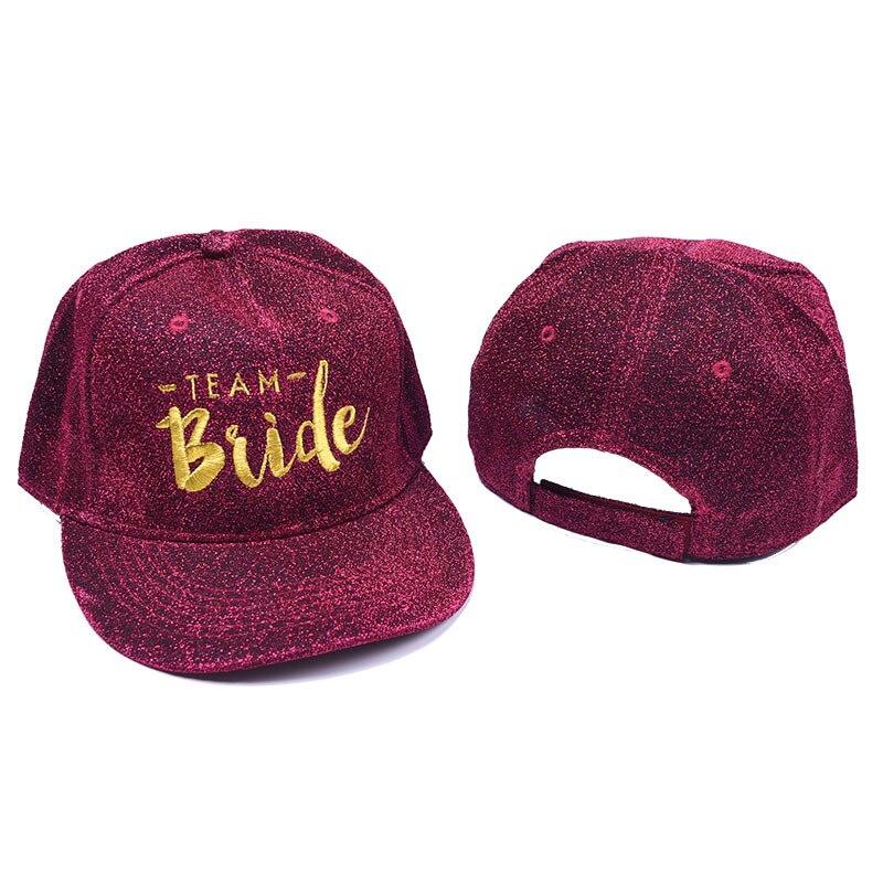 Chapéu de festa de solteira equipe noiva boné de beisebol noiva para ser diy unicórnio havaiano decoração de festa de casamento suprimentos, q
