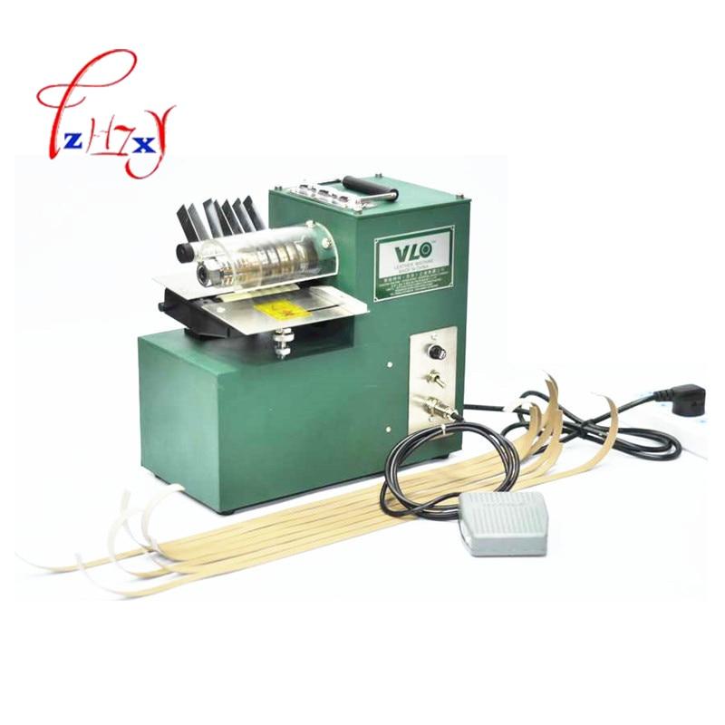 Corte de cuero de una sola cabeza, cortadora de cuero, bolsas de zapatos cortador de papel recto, cortadora de cuero curtido vegetal