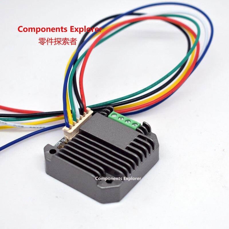 Controlador de motor integrado Nema 17, motor paso a paso 42, controlador de una máquina DC11V-DC28V/2A recomendado DC24V