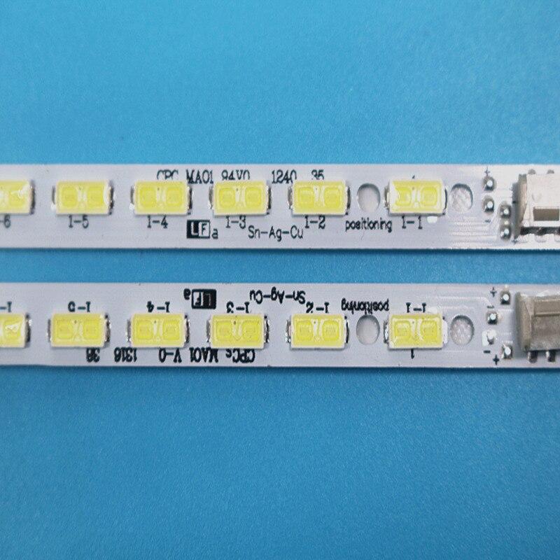 New LED Backlight Lamp strip 68leds For Sharp 60 TV LCD-60LX540A LCD-60LX640A LCD-60LX750A LCD-60LX545A LCD-60LX550A lc-60le640