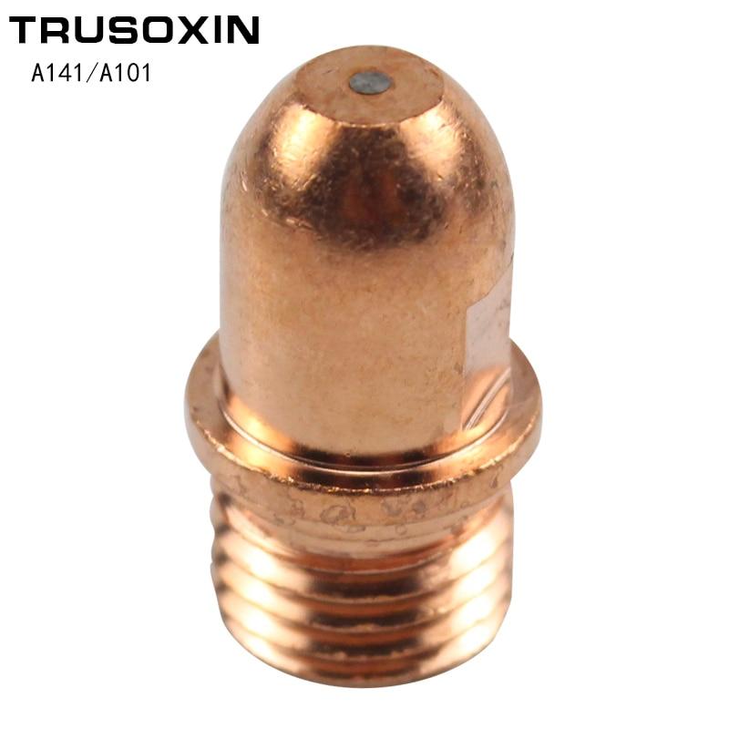 5 шт. резак электрод PR0101 неоригинальные A141 A101 горелка для воздушно-плазменной резки резак расходные материалы