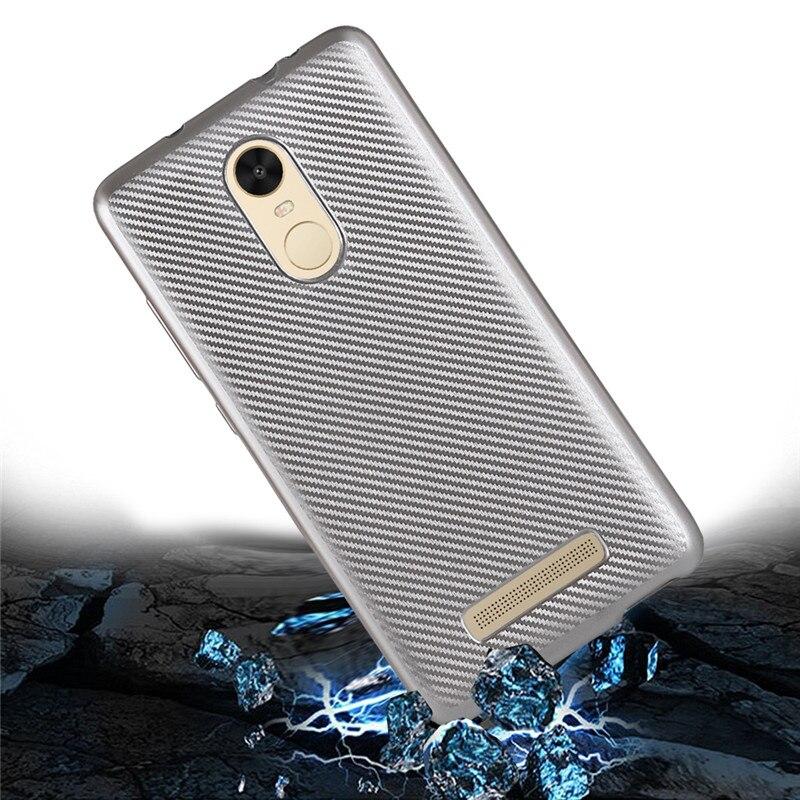Für Xiaomi Redmi Hinweis 3 Pro Special Edition 152mm Fall Carbon Fiber Zurück Abdeckung Dünner Weiche Fundas Für Redmi Hinweis SE Telefon fällen