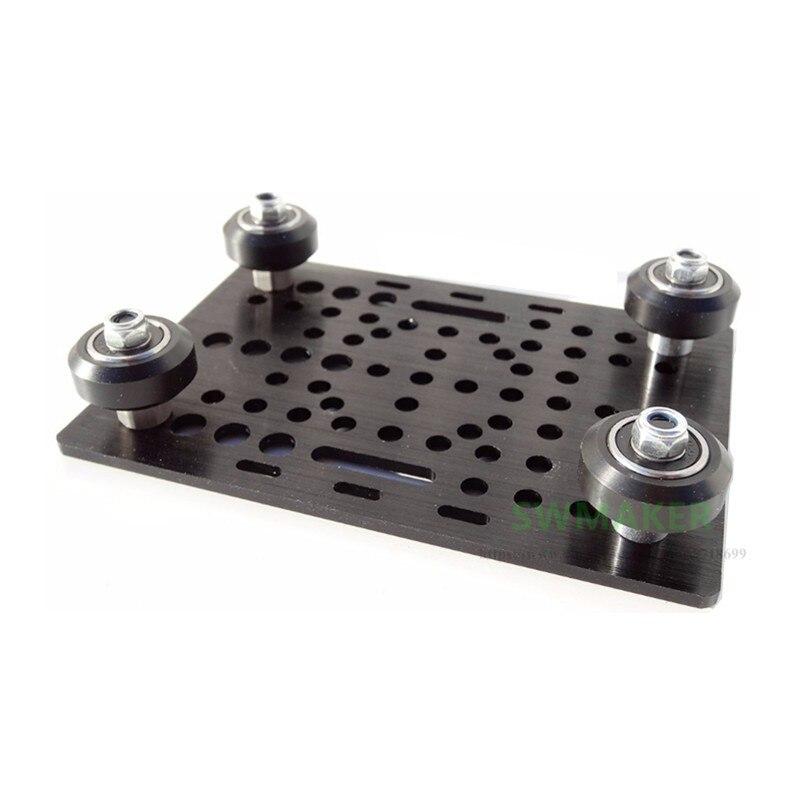 Openbuilds CNC fresadora DIY aleación de aluminio v-slot Gantry Set para CNC máquina 3D impresora piezas de aluminio extrusión lineal