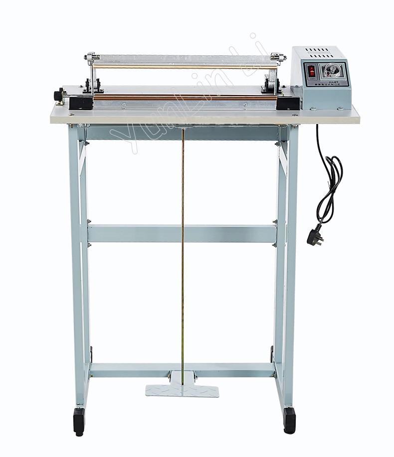 ماكينة تغليف البلاستيك دواسة القدم حقيبة بلاستيكية السدادة ماكينة سدادة حرارية حزمة استخدام SF-400