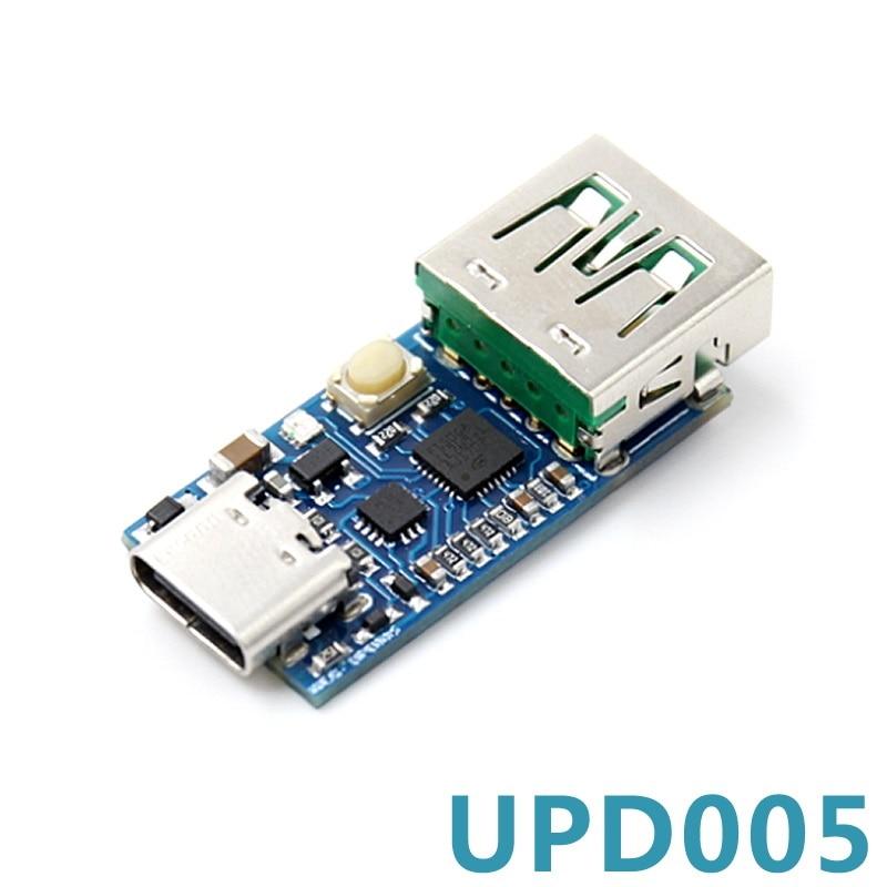 Детектор декорации постоянного тока PD2.03.0 с функцией быстрой зарядки, QC4 + программирование HID