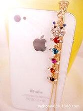 1Pcs 3.5mm lovely Caterpillar Design Mobile Phone Ear Cap Dust Plug For Iphone Samsung dust plug