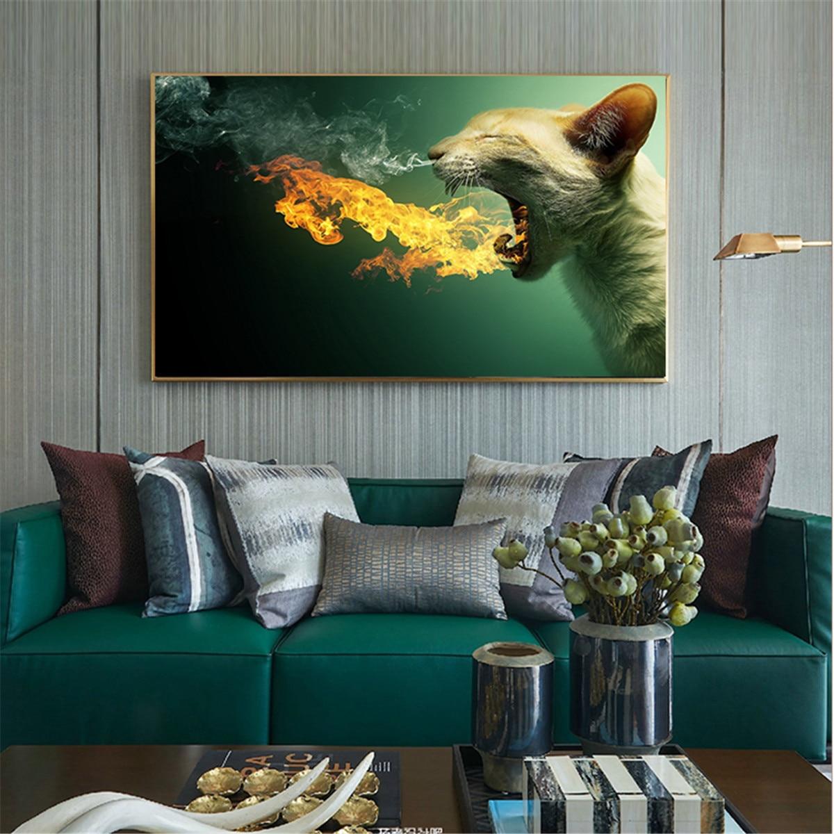 Cuadro sobre lienzo para pared de café para decoración de habitación de...
