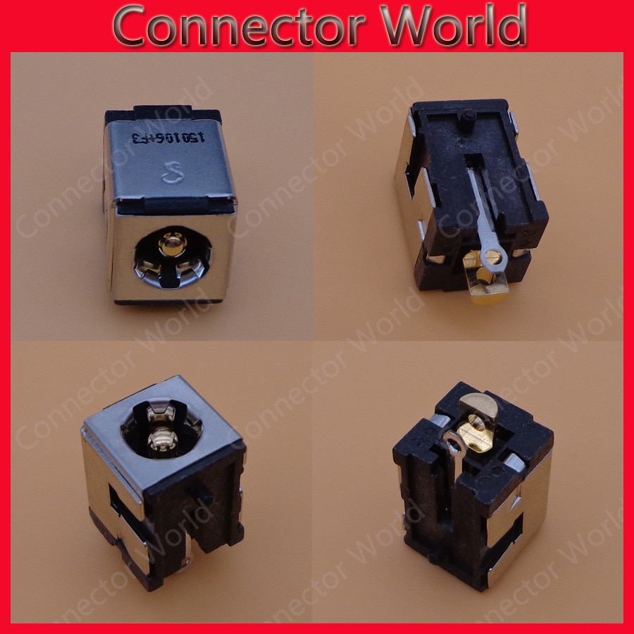 2 uds 2,5mm portátil DC Power Jack conector para Asus K50 P50 X87Q X5DC K40 K40IN K40AB K40AF K40AD X5 X87Q K51 K51A Z7000 serie