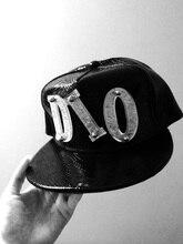 Bizarre aventure JoJo Dio Brando Cosplay chapeau noir cuir Topee