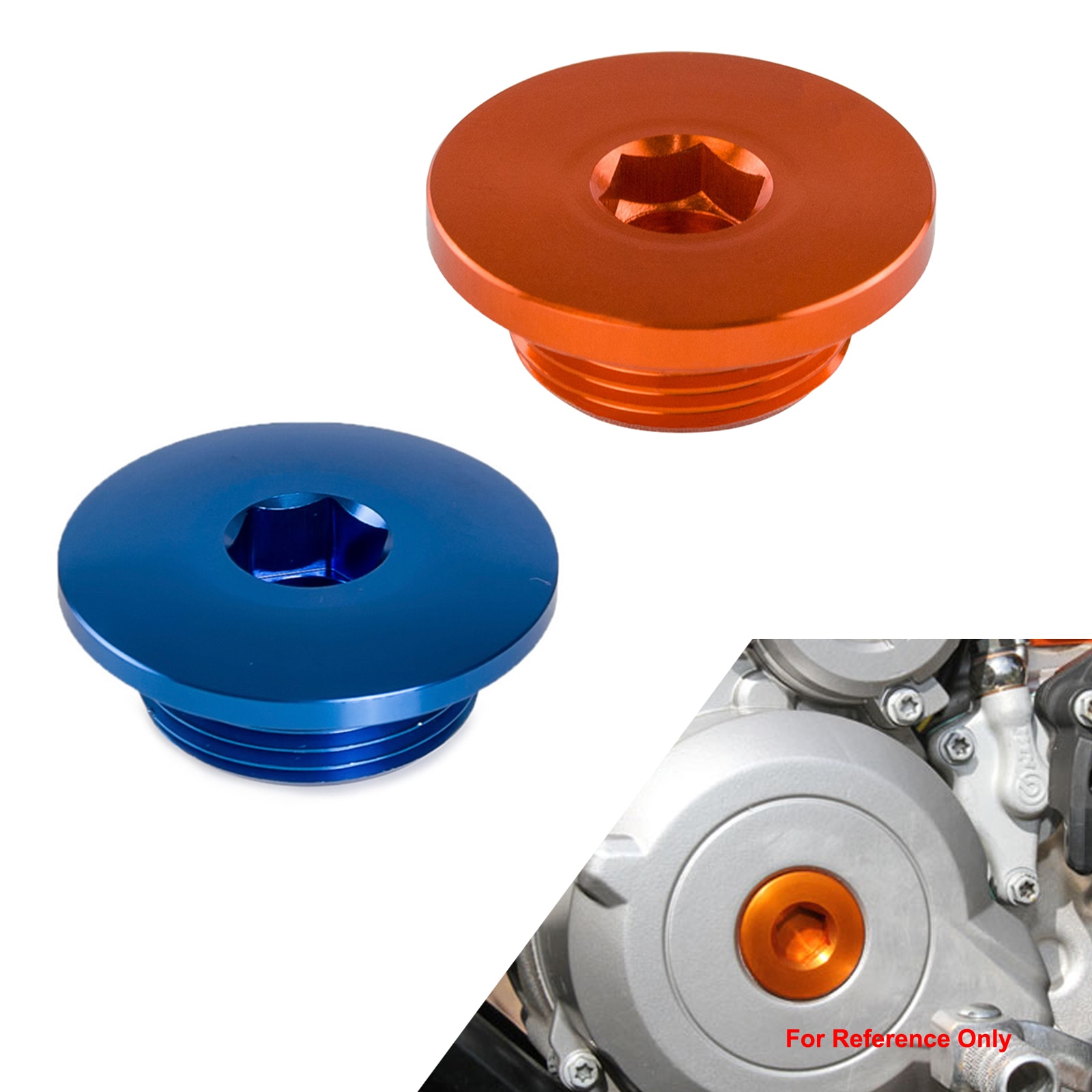 Заглушка зажигания двигателя для KTM 250 350 450 SXF XCF EXCF Duke 390 RC390 690 enuro SMC 990 950 1190 ADVENTURE 1290 SUPER DUKE