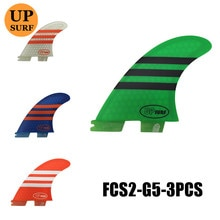 FCSii G5 Surf Fins SUP Surfboard Fins surfboards fins fcs2 Blue,green,white, orange  Free Shipping Hot Sale