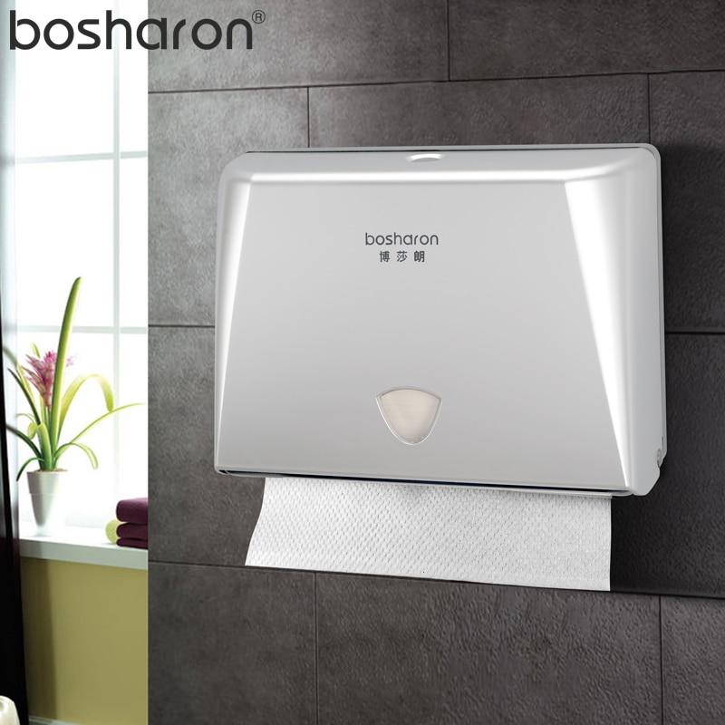 Европейский стиль, бумажный диспенсер для полотенец, ванная комната, коробка для салфеток, Кнопка открытия, настенный пластиковый держател...