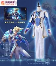 LOL Start Guardian Magic girl  The Bounty Hunter Miss Fortune The Dark Sovereigni Syndra Ezreal EZ female dress cosplay costume