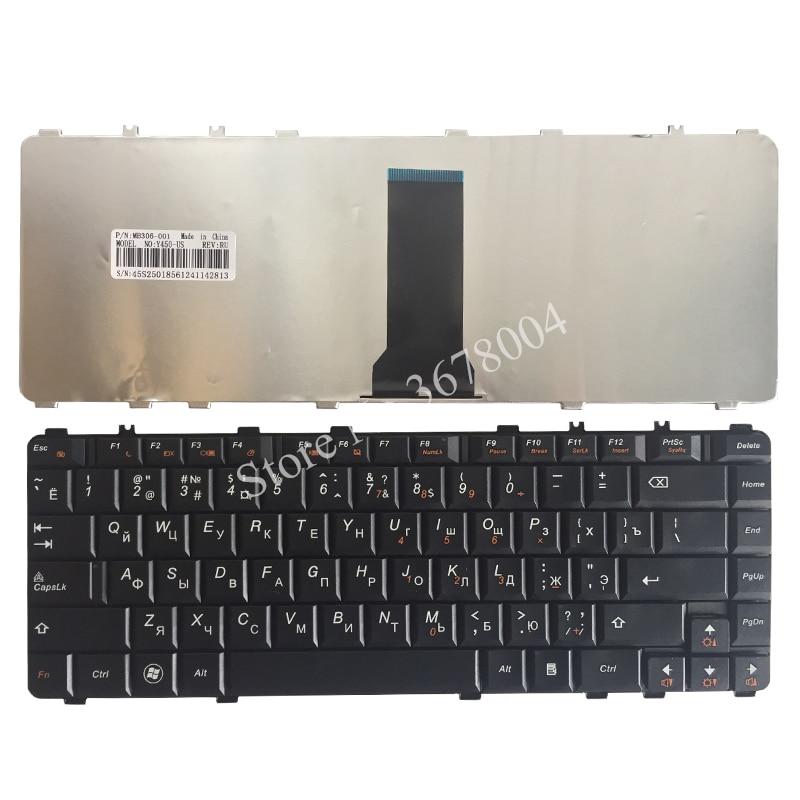 Rosyjska RU klawiatura dla Lenovo Ideapad Y450 Y450A Y450AW Y450G Y550 Y550A Y550P Y460 Y560 B460 Y550A czarna klawiatura