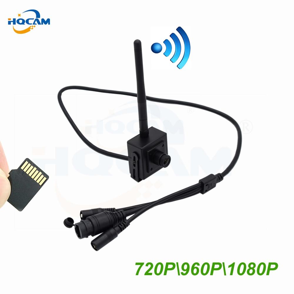 HQCAM IMX335 IMX307 1920P 5MP 3MP 2MP 1.3MP 1MP WIFI IP Camera indoor Draadloze Surveillance Home Security Onvif TF card Slot