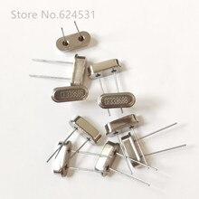 10 pièces en ligne oscillateur à cristal passif 33.868M 49S 33.8688MHZ HC-49S DIP 2P résonateur