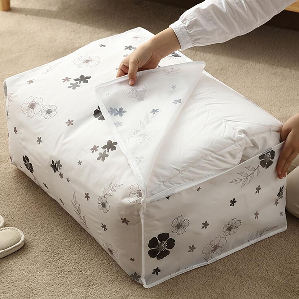 Plegable bolsa de almacenamiento ropa de manta edredón suéter armario organizador caja de boda cristiana, una tela no tejida portátiles bolsas organizador
