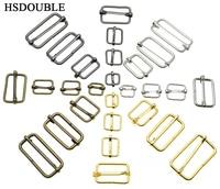 10 шт./упак. металлические тройные скользящие роликовые пряжки для ремня