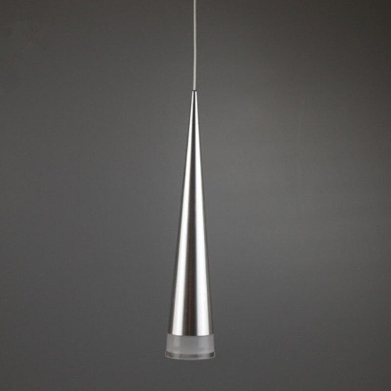 BDBQBL lámpara colgante cónica moderna LED de aluminio y Metal para el hogar/lámpara para colgar iluminación Industrial sala de estar Bar cafetería lámpara colgante