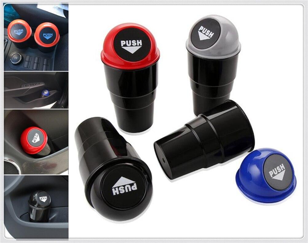 1 Uds. Autopartes mini caja redonda para contenedor de basura con forma de Kia Sportage Sorento Sedona process Optima K900