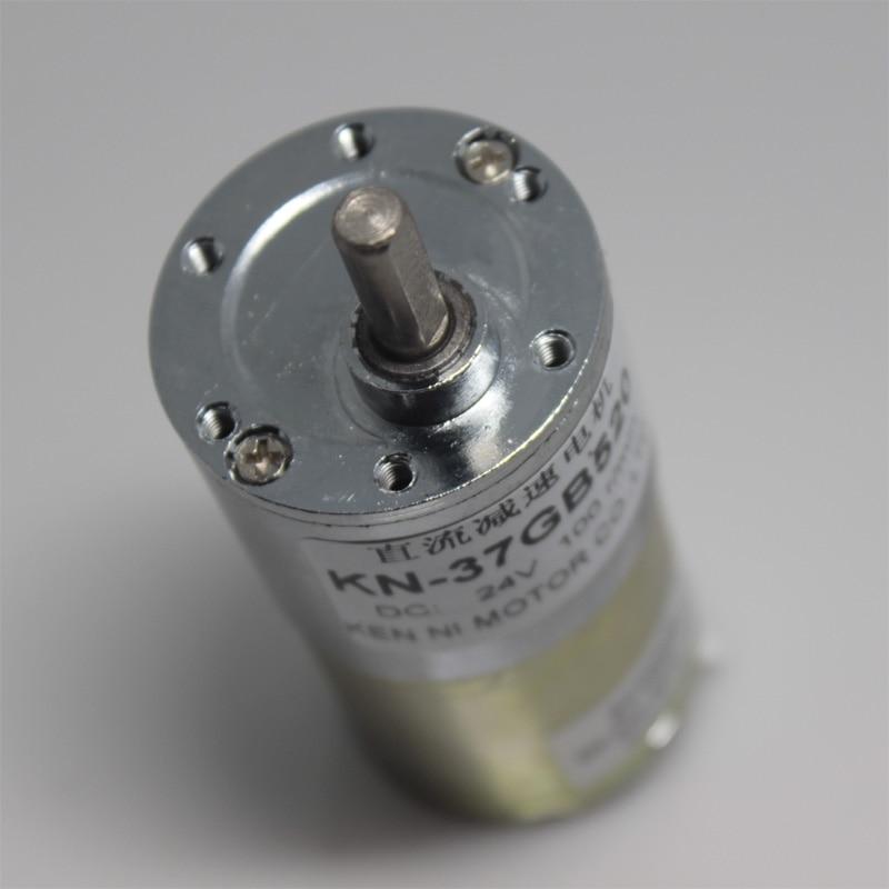 Envío Gratis 12V 37GB520 Micro DC motor de motor terminal moneda contando 5 10 20 30 40 50 60 100, 150, 200, 300, 400, 500rpm