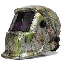 Masque de soudage casque de soudage energie solaire automatique (utilisation de lénergie solaire pour recharge) trois paire de lunettes supplémentaires camouflage