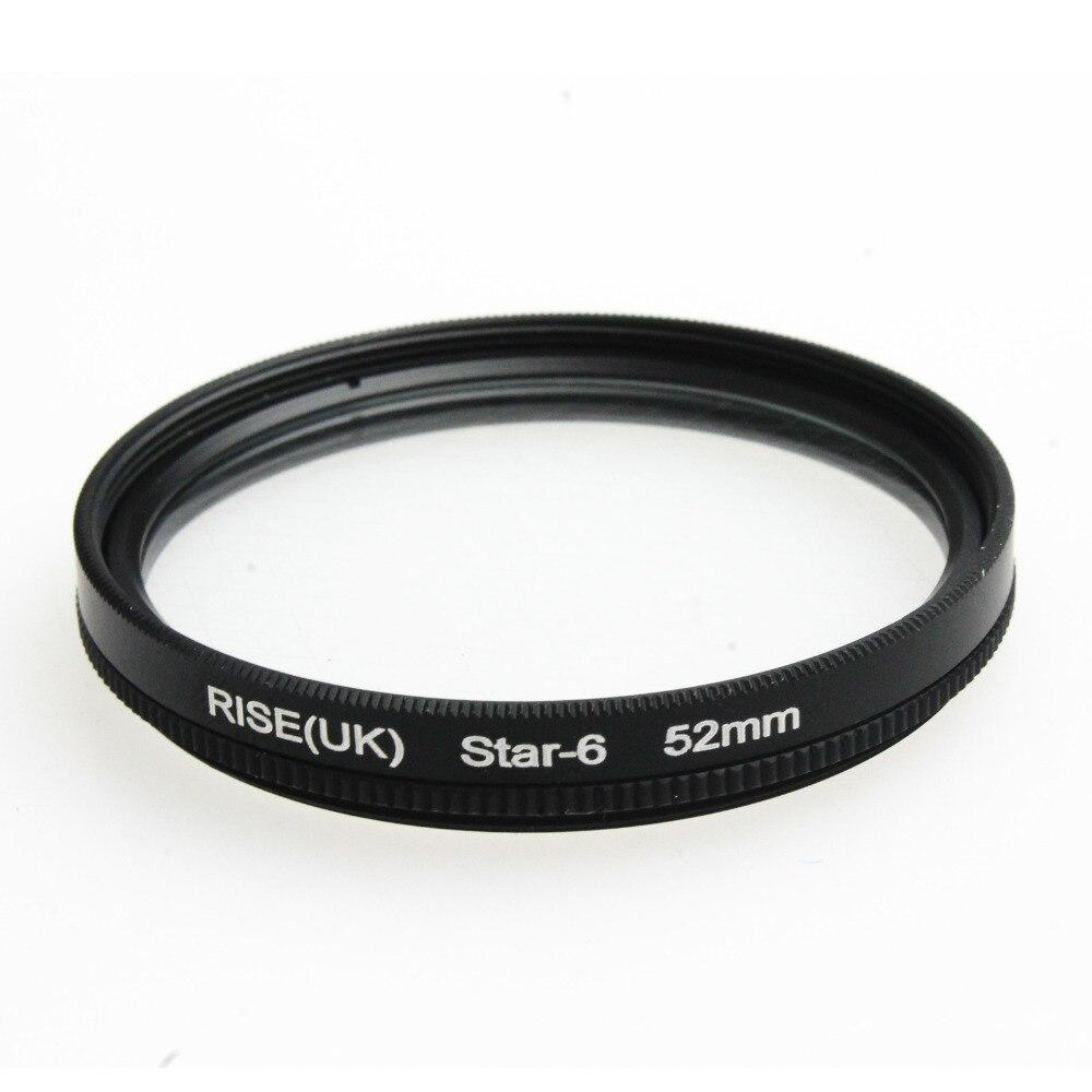 52MM 6 Point Star Filter Kit for Canon EF 18-55mm 50mm 85mm Camera Lens