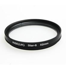 Kit de filtre étoile 52MM 6 points   Pour Canon EF 18-55mm 50mm 85mm, objectif dappareil photo