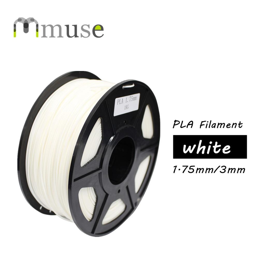 شحن مجاني OEM 3D طابعة خيوط PLA البلاستيك 1.75 مللي متر 3 مللي متر 1 كجم
