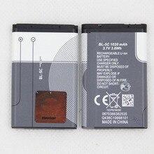 Pour Nokia 1000 1010 1108 1110 1112 E50 E60 N70 N71 N72 1116 mah BL5C BL-5C batterie de remplacement interne pour téléphone portable li-ion