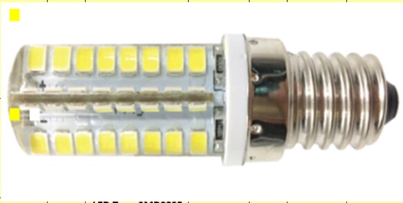 [Seven Neon] 200 Uds. Alta potencia 250-270LM BE14 AC220V 5W 64led SMD2835 360 haz ángulo lámpara reemplazar 20w bombilla halógena