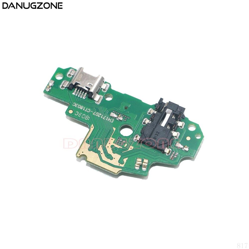 30 piezas para Huawei P Smart/Enjoy7S 7S Enjoy7S FIG-AL00 conector de puerto de enchufe de puerto de carga USB cable flexible de placa de carga